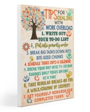 Social Worker Tips For Dealing With Work Overload 20x30 Gallery Wrapped Canvas Prints thumbnail