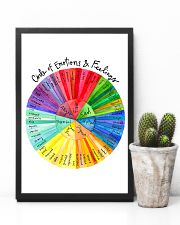 Social Worker Circle Of Emotions And Feelings 11x17 Poster lifestyle-poster-8