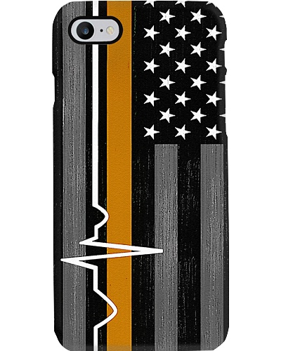 Cardiologist Heartbeat Line American Flag