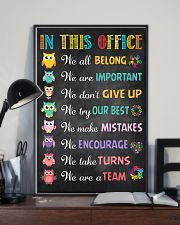 Social Worker In this office  11x17 Poster lifestyle-poster-2