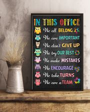 Social Worker In this office  11x17 Poster lifestyle-poster-3