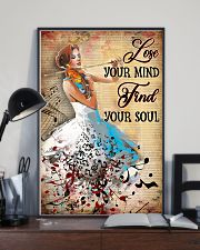 Violin - Find Your Soul 11x17 Poster lifestyle-poster-2