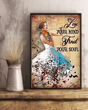 Violin - Find Your Soul 11x17 Poster lifestyle-poster-3