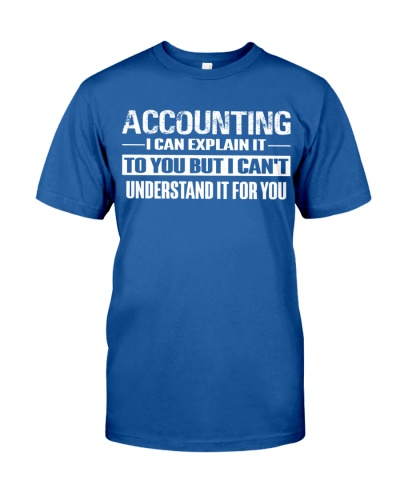 Accountant - I can explain it to you