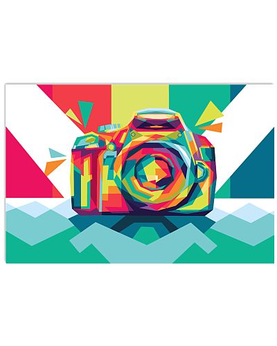 Colorful Camera Photographer