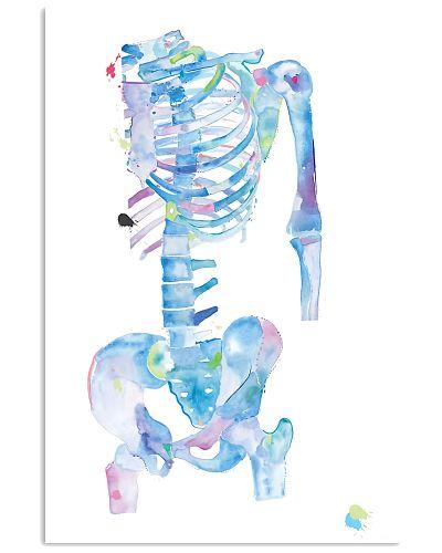 Physical Therapist Skeleton Art