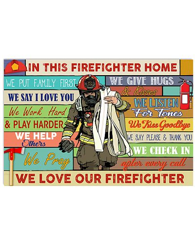 Firefighter In This Firefighter Home