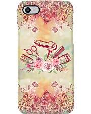 Hairdresser Floral Tools  Phone Case i-phone-8-case