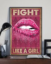 Breast Cancer Fight Like A Girl 16x24 Poster lifestyle-poster-2