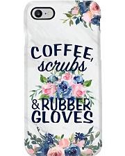 Nurse Coffee Scrub And Rubber Gloves Phone Case i-phone-7-case