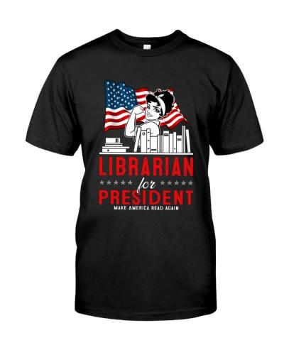 Librarian Make America read again