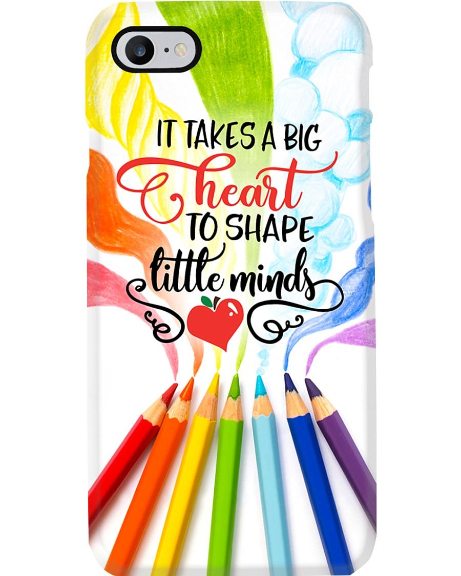 Teacher It Takes A Big Heart To Shape Little Mind Phone Case