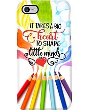 Teacher It Takes A Big Heart To Shape Little Mind Phone Case i-phone-7-case