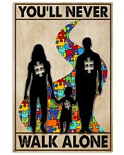 Autism You Never Walk Alone 11x17 Poster front