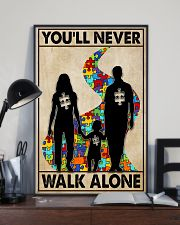 Autism You Never Walk Alone 11x17 Poster lifestyle-poster-2