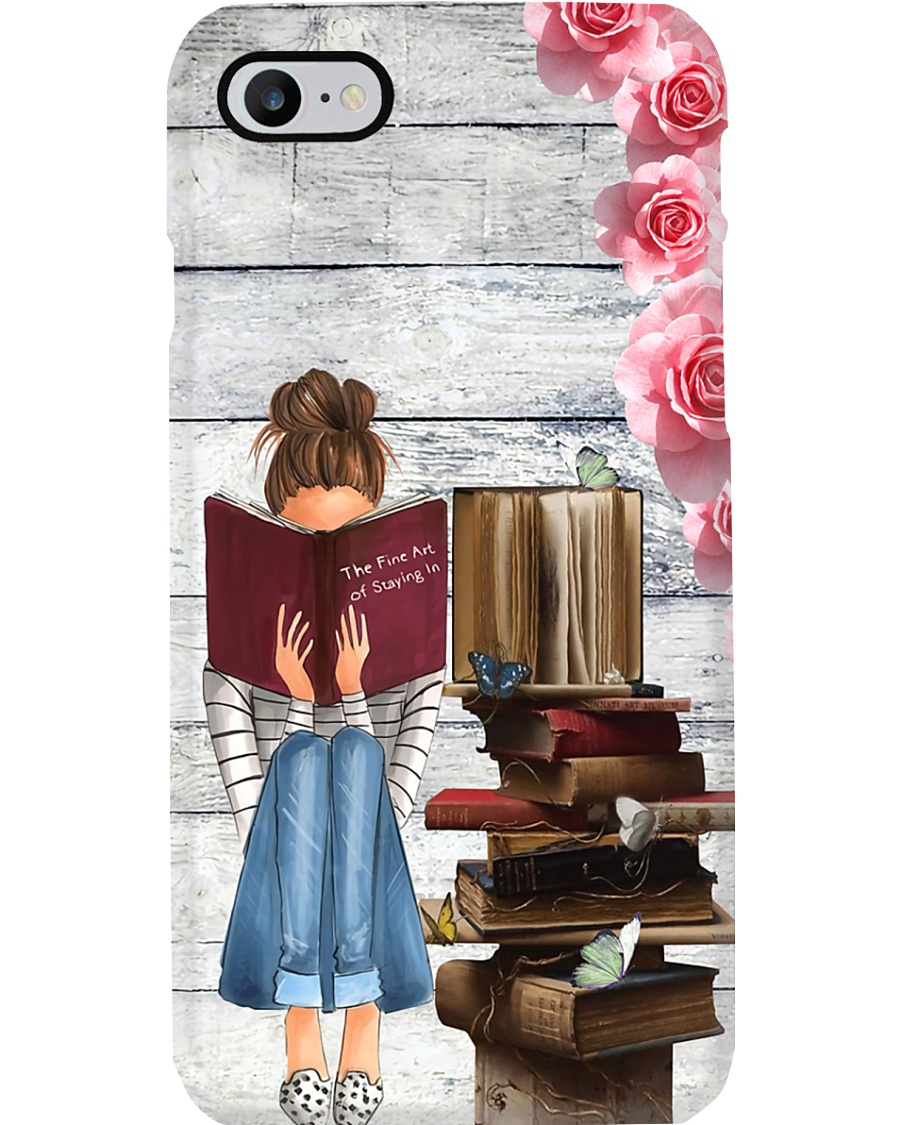 Books The Fine Art Of Staying In Phone Case