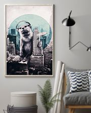 Otter in the city 11x17 Poster lifestyle-poster-1