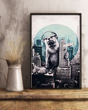 Otter in the city 11x17 Poster lifestyle-poster-3
