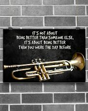 Trumpet Better Than You Were The Day Before  17x11 Poster poster-landscape-17x11-lifestyle-18