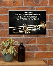 Trumpet Better Than You Were The Day Before  17x11 Poster poster-landscape-17x11-lifestyle-23