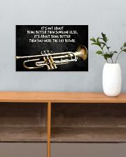 Trumpet Better Than You Were The Day Before  17x11 Poster poster-landscape-17x11-lifestyle-24