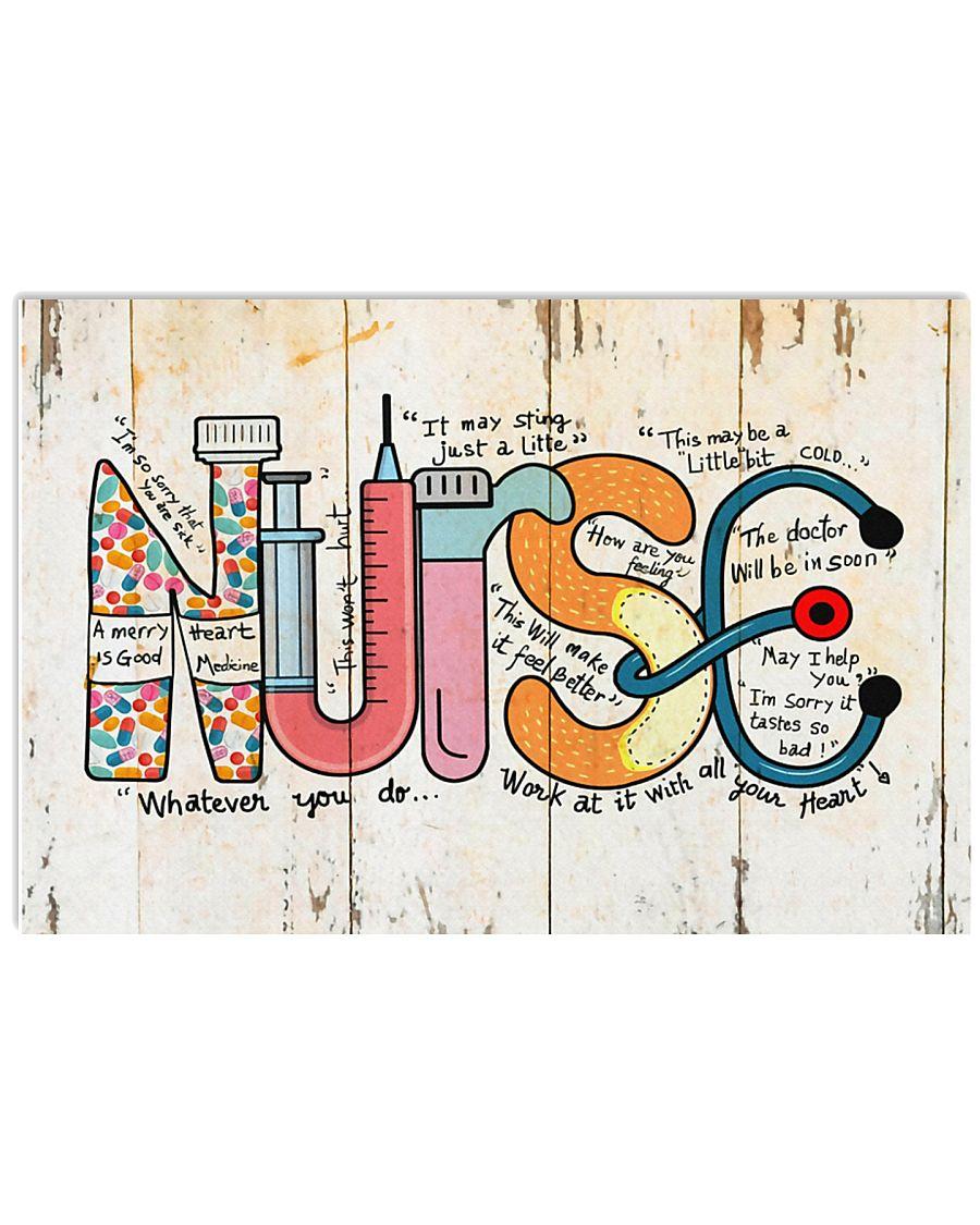 Nurse Whatever you do 17x11 Poster