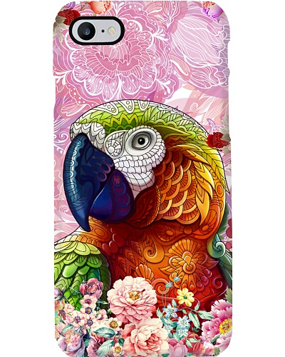 Parrot and flower