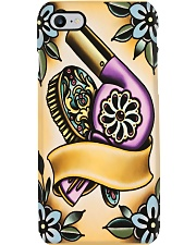Hairdresser Vintage Pattern Hairdryer Phone Case i-phone-7-case