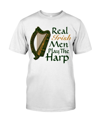Real Irish Men Play The Harp