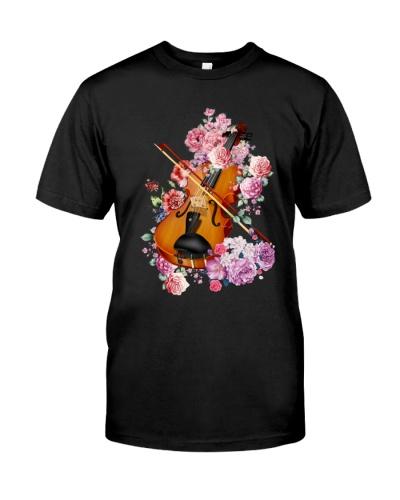 Violin Flowers
