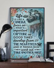 Photographer Life Is Like A Camera 11x17 Poster lifestyle-poster-2