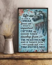Photographer Life Is Like A Camera 11x17 Poster lifestyle-poster-3