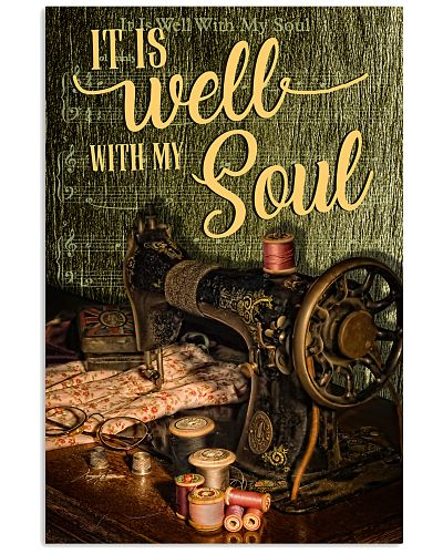 Sewing It Is Well With My Soul