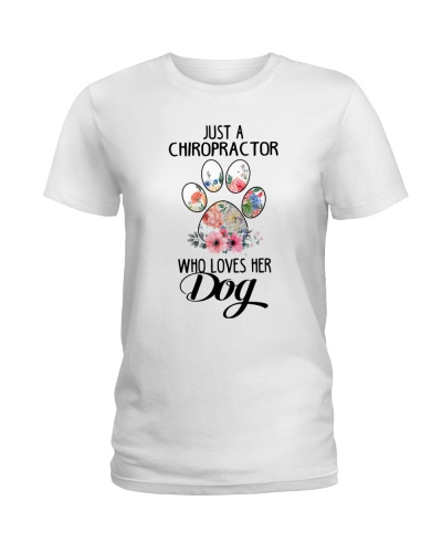 Just a chiropractor who loves her dog