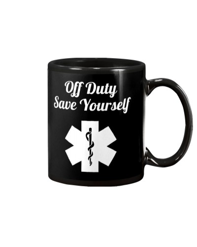 Paramedic Off Duty Save Yourself