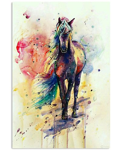Horse Girl - Colorful Horse