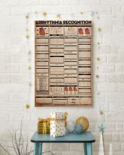 Paramedic Arrhythmia Recognition 24x36 Poster lifestyle-holiday-poster-3