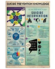 Suicide Prevention Knowledge 11x17 Poster front
