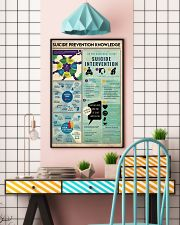 Suicide Prevention Knowledge 11x17 Poster lifestyle-poster-6