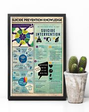 Suicide Prevention Knowledge 11x17 Poster lifestyle-poster-8