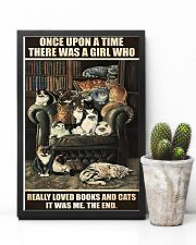 Librarian A Girl Who Really Loved Books And Cats 11x17 Poster lifestyle-poster-8