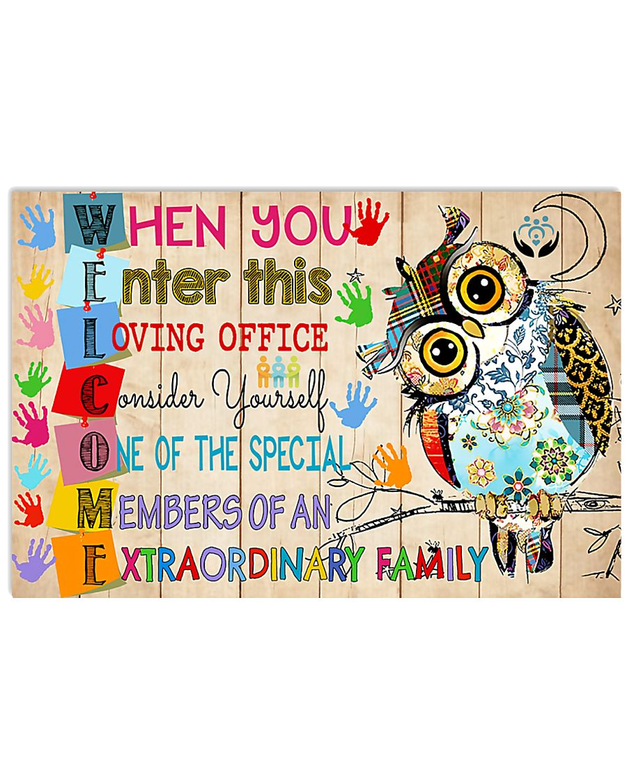 Social Worker welcome 17x11 Poster