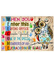 Social Worker welcome 17x11 Poster front