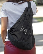 Yoga - Unique Sling pack Sling Pack garment-embroidery-slingpack-lifestyle-01
