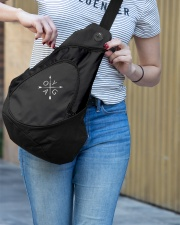 Yoga - Unique Sling pack Sling Pack garment-embroidery-slingpack-lifestyle-02