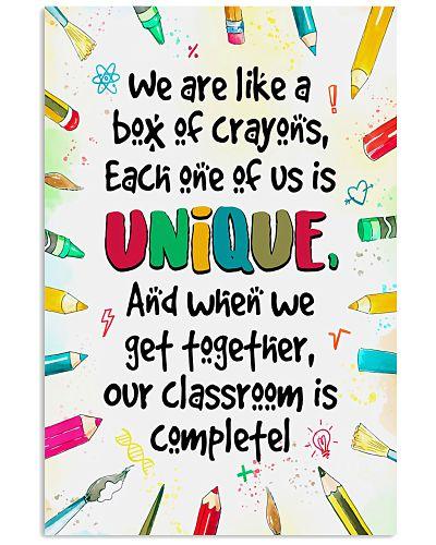Unique Crayons Teacher