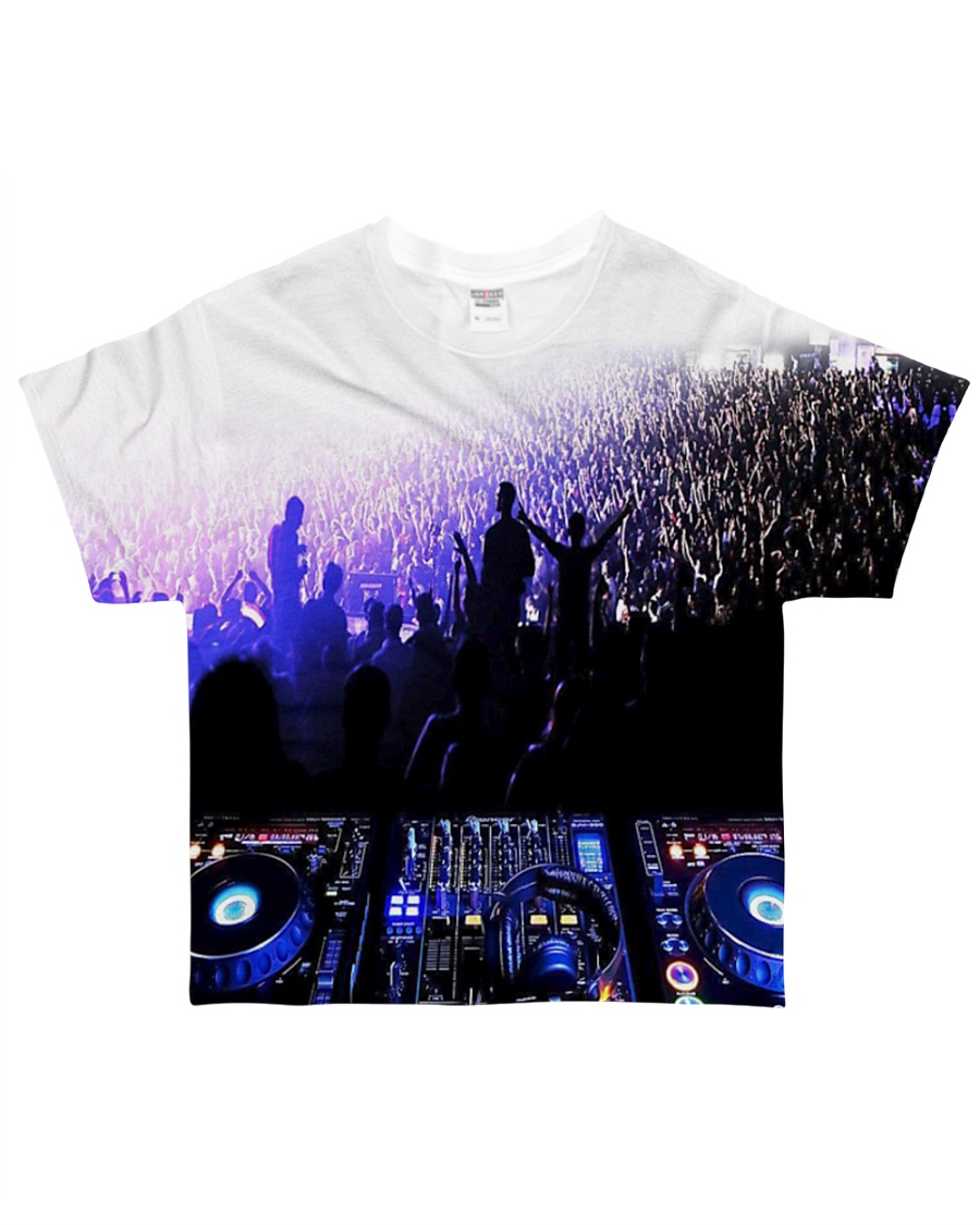 DJ In the crowd All-over T-Shirt