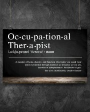 Occupational Therapist Definition  17x11 Poster aos-poster-landscape-17x11-lifestyle-12