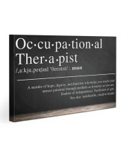 Occupational Therapist Definition  30x20 Gallery Wrapped Canvas Prints thumbnail