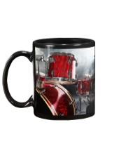 Drummer - Red Drum Set Mug back